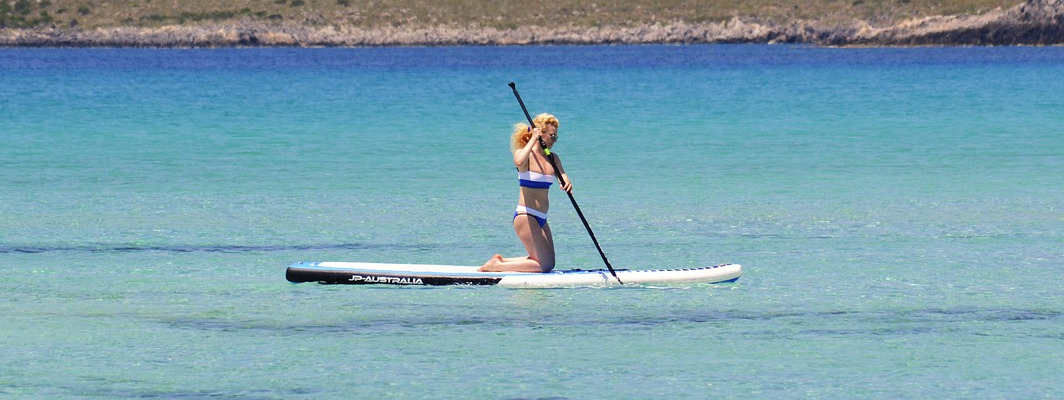stand up paddle - 4 Cool Watersports You Can Do in Matabungkay