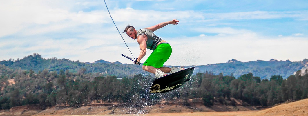 wakeboarding - 4 Cool Watersports You Can Do in Matabungkay